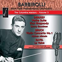 Columbia Masters Vol.3: Music by Debussy; Bruch; Ravel by Nathan Milstein