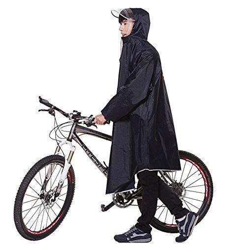 Zjc レインコート 自転車 バイク 通学兼用 レインウエア...