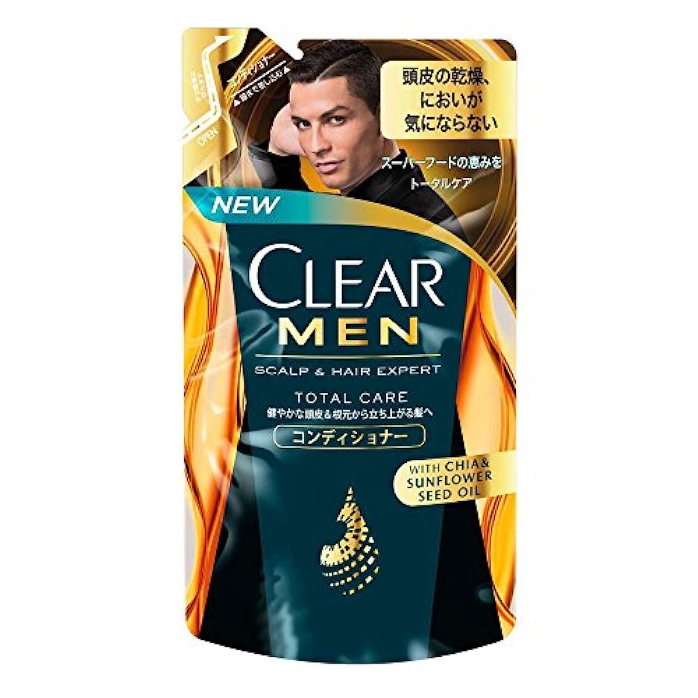 神のシェアアイデアクリア フォーメン トータルケア 男性用コンディショナー つめかえ用 (健やかな頭皮へ) 280g × 5個
