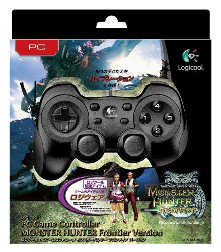 Logicool PCゲームコントローラ モンスターハンター フロンティア バージョン GPX-500MHF
