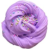 NUOLUX 60ml Fluffy Slime Floam Toys Cotton Mud Toy Scented Rubber Mud for Adult Kids