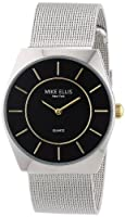 Mike Ellis New York Men's Quartz Watch M1126ASM/2 M1126ASM/2 with Metal Strap