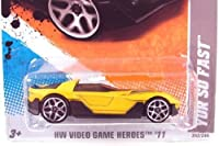 2011 Hot Wheels 174/244 - 2011 New Models - '11 Corvette Grand Sport (Yellow)