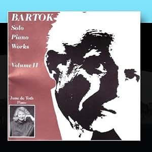 Bartok Solo Piano Works, Volume 2