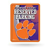 (Clemson Tigers) - NCAA Hi-Res Metal Parking Sign
