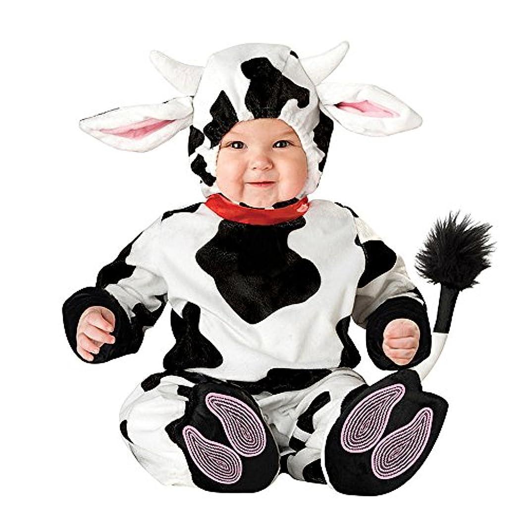 必要条件ファントムレキシコンXXOO幼児赤ちゃん幼児ドット牛ハロウィンドレスアップコスチューム衣装 (80cm)