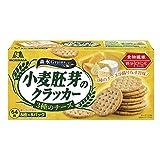 森永製菓 小麦胚芽のクラッカー<3種のチーズ> 64枚 ×4箱