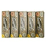 Amazon.co.jp[smoking]スモーキング シングル オーガニックヘンプ ペーパー 60枚入り×5 手巻きタバコ シャグ