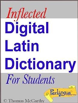 A Digital Latin Dictionary by [McCarthy, Thomas]