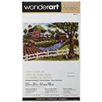 "Wonderart Classic Heritage Homestead Latch Hook Kit, 20"" X 30"""