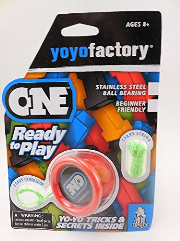 YoYoFactory ONE Ball Bearing Professional Trick YoYo - Red [並行輸入品]