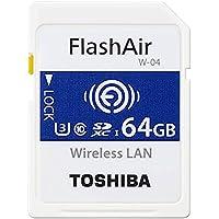 東芝 無線LAN搭載SDHCメモリカード 64GB Class10 UHS-1Flash Air SD-UWA064G