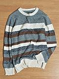 (シップスジェットブルー) SHIPS JET BLUE JB:MELANGE BDR CREW 126050150 Khaki2 日本 M-(日本サイズM相当)
