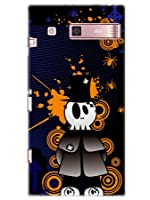 KYV31 ケース カバー URBANO V01 au ハロウィン ポップイニシャルT