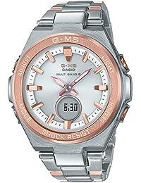 [カシオ]CASIO 腕時計 BABY-G ベビージー G-MS 電波ソーラー MSG-W200SG-4AJF レディース
