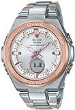 [カシオ] 腕時計 ベビージー G-MS 電波ソーラー MSG-W200SG-4AJF レディース