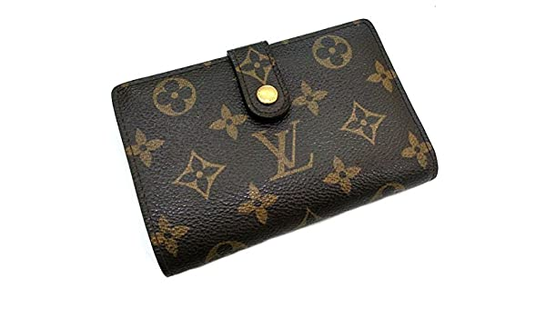 f355b0edf87a Amazon | ルイヴィトン ポルトフォイユ・ヴィエノワ がま口 二つ折り財布 モノグラム [中古] | LOUIS VUITTON(ルイヴィトン)  | 財布