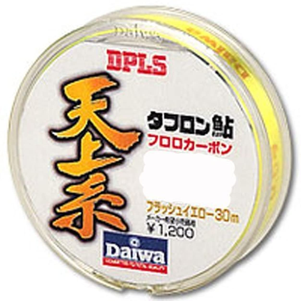 作曲する腹痛特権的ダイワ(Daiwa) フロロカーボンライン タフロン鮎 天上糸 30m 0.6号 フラッシュイエロー