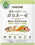 カゴメ 根菜と大豆ミートのボロネーゼ 140g ×10袋