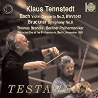 Bach: Violin Concerto No. 2; Bruckner: Symphony No. 8 by Thomas Brandis (2010-10-12)