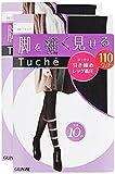 (グンゼ)GUNZE タイツ Tuche トゥシェ 脚を細く見せる 110デニール 2足組 THW81H 026 ブラック L-LL