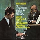 ショパン:ピアノ協奏曲第1番&ラフマニノフ:パガニーニの主題による狂詩曲