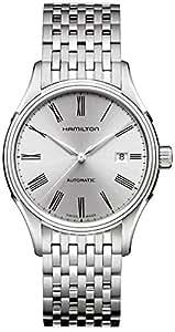 [ハミルトン]HAMILTON 腕時計 Valiant auto(バリアント オート) roman SLB metal H39515154 メンズ 【正規輸入品】