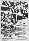 Licenses Products Sex Pistols Tour Poster Sticker [並行輸入品]