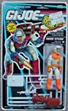 Original 9.5cm GI Joe Battle Corps White &Orange SNOW STORM Action Figure (1992 Hasbro)