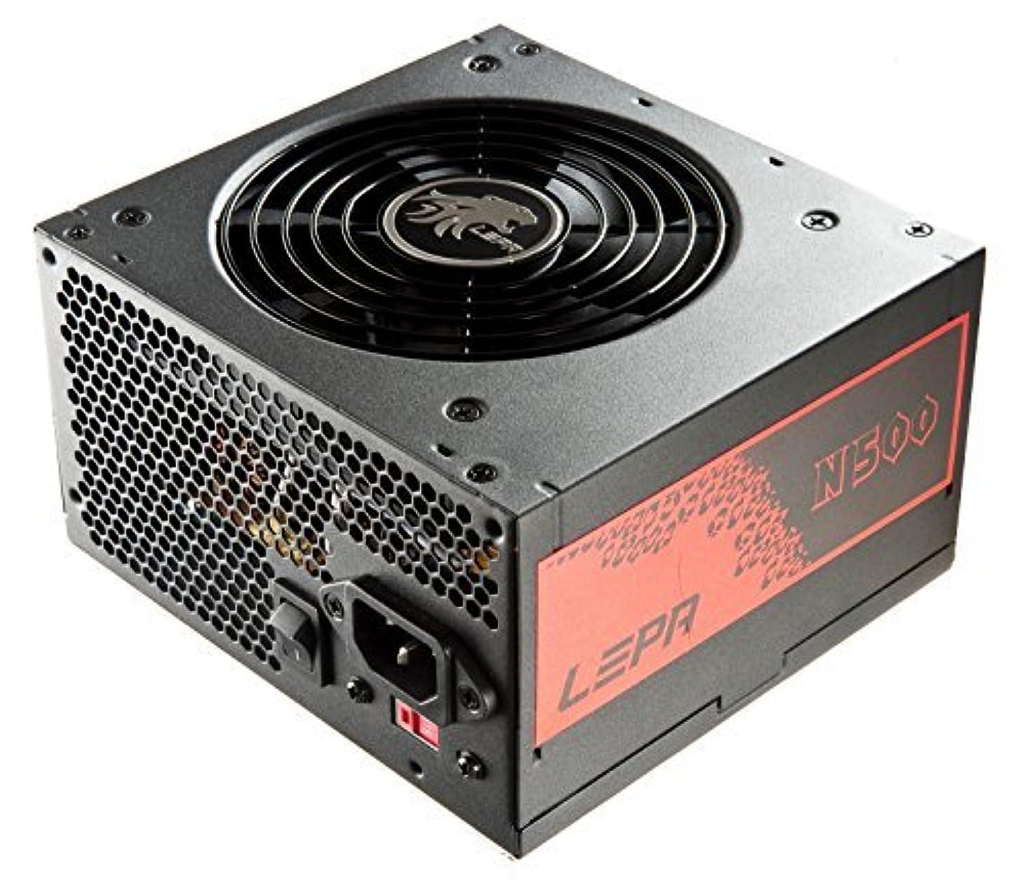 不透明なシェルター速度LEPA N Series 500W ATX12V Power Supply N500-SA [並行輸入品]