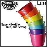 TUBTRUGS(タブトラッグス) フレキシブルバケツ Lサイズ ラベンダー