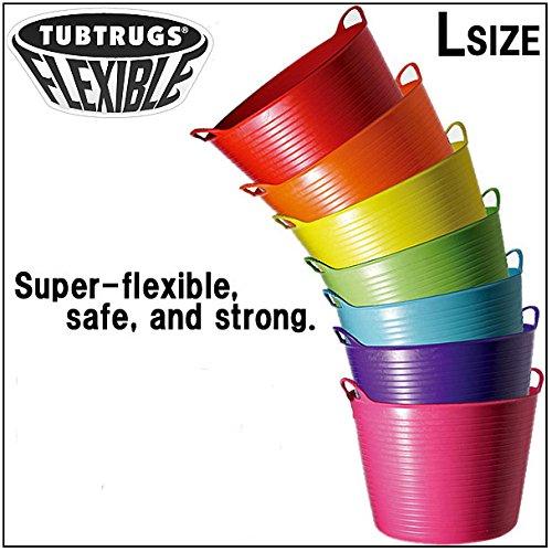 TUBTRUGS(タブトラッグス) フレキシブルバケツ Lサイズ ピスタチオ