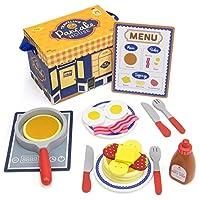 幼児用おもちゃプレイセット、旅行Pancake Assorted朝食Kids Toys Playsets
