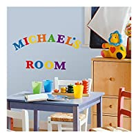 RoomMates RMK1253SCS Express Yourself Primary Colors Peel & Stick Wall Decals [並行輸入品]
