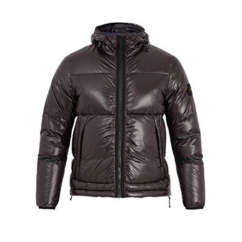 (ストーンアイランド) Stone Island メンズ アウター ダウンジャケット Hooded quilted down technical jacket [並行輸入品]