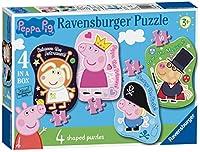 Ravensburger Peppa Pig 4型ジグソーパズル(4,6,8,10pc)