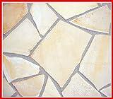 ソルンフォーヘン 薄手薄型( 乱形 石材 )ソルンフォーフェン。1ケース 束 (1m2) 8-12mm厚 ソルンホーヘン(ベージュ・クリーム系)