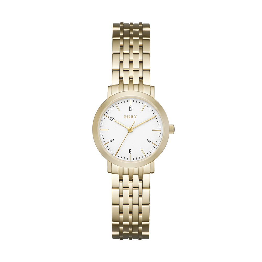 DKNY Women's Quartz Stainless Steel Watch, Color:Gold-Toned (Model: NY2510)