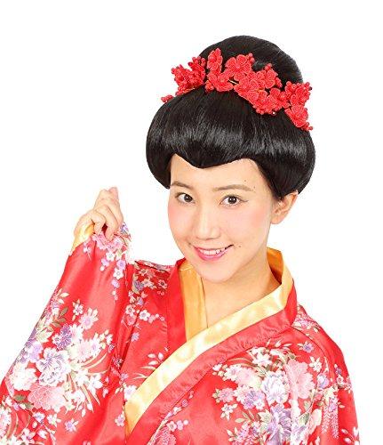 カツランド 日本髪 かつら コスチューム用小物 男女共用...