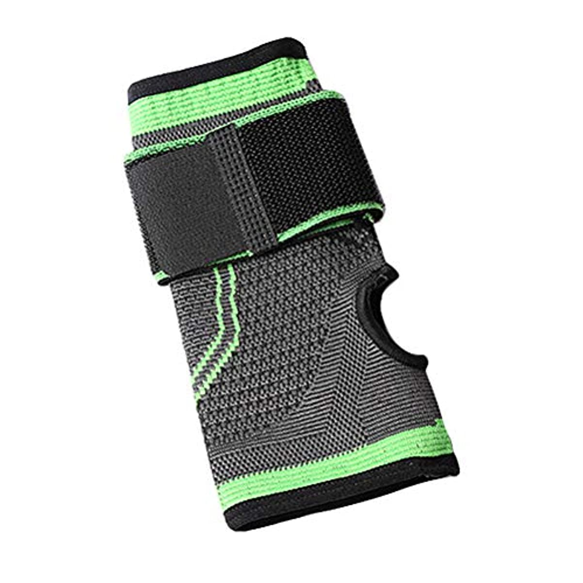 染色装備する酸っぱいHeallily 重量挙げのクロスプルアップサイズMのための手首ブレースサポート副木