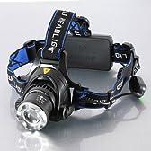 CREE T6 HeadLight ズーム機能付ヘッドライト 1200ルーメン [並行輸入品]