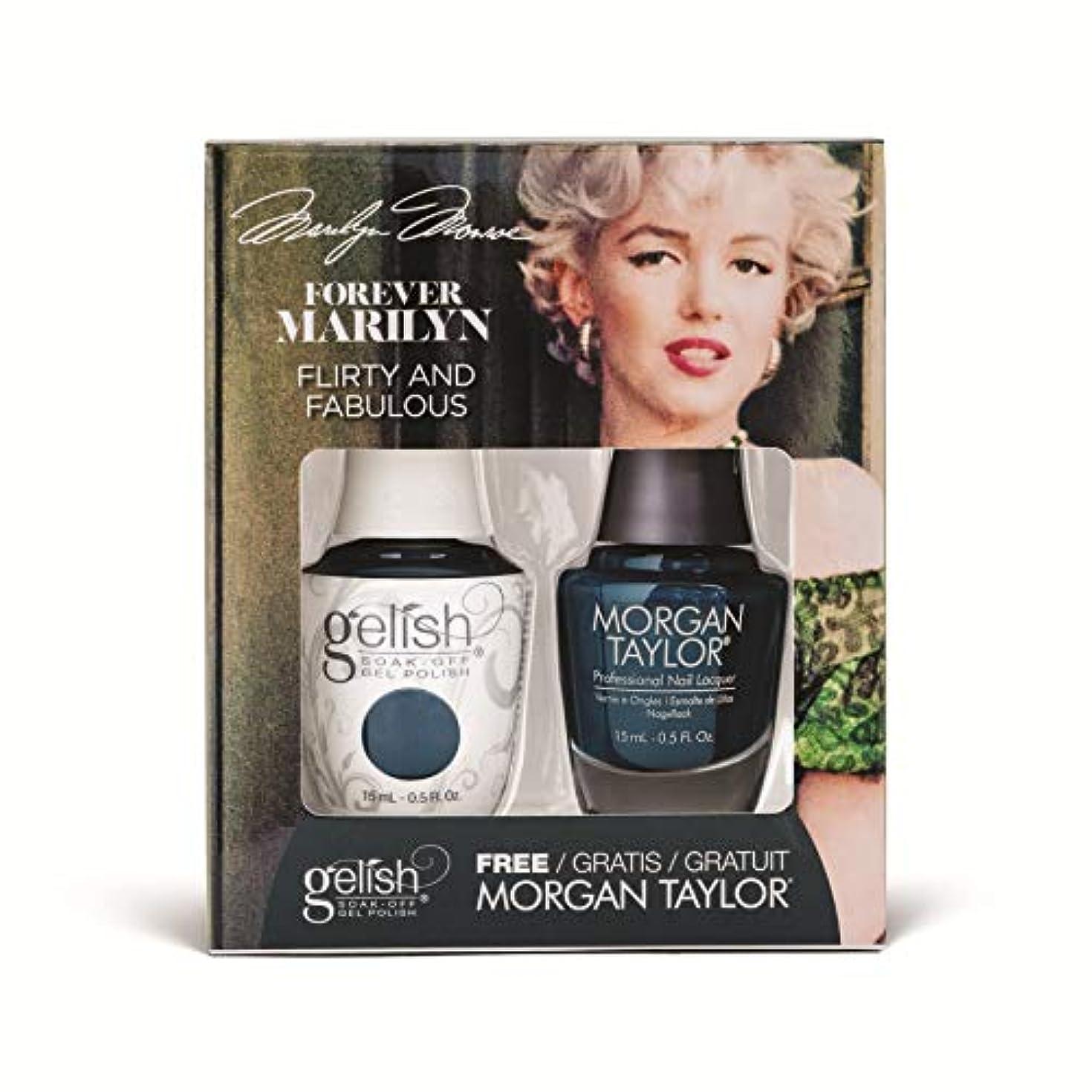 仮説キモい成功するHarmony Gelish - Two of a Kind - Forever Marilyn Fall 2019 Collection - Flirty and Fabulous - 15ml / 0.5oz