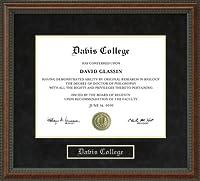 大学卒業証書Davisフレーム oh-davis-91-burl