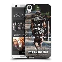 オフィシャルAMC The Walking Dead Daryl Nowhere Safe クオーツ HTC Desire 626 専用ソフトジェルケース
