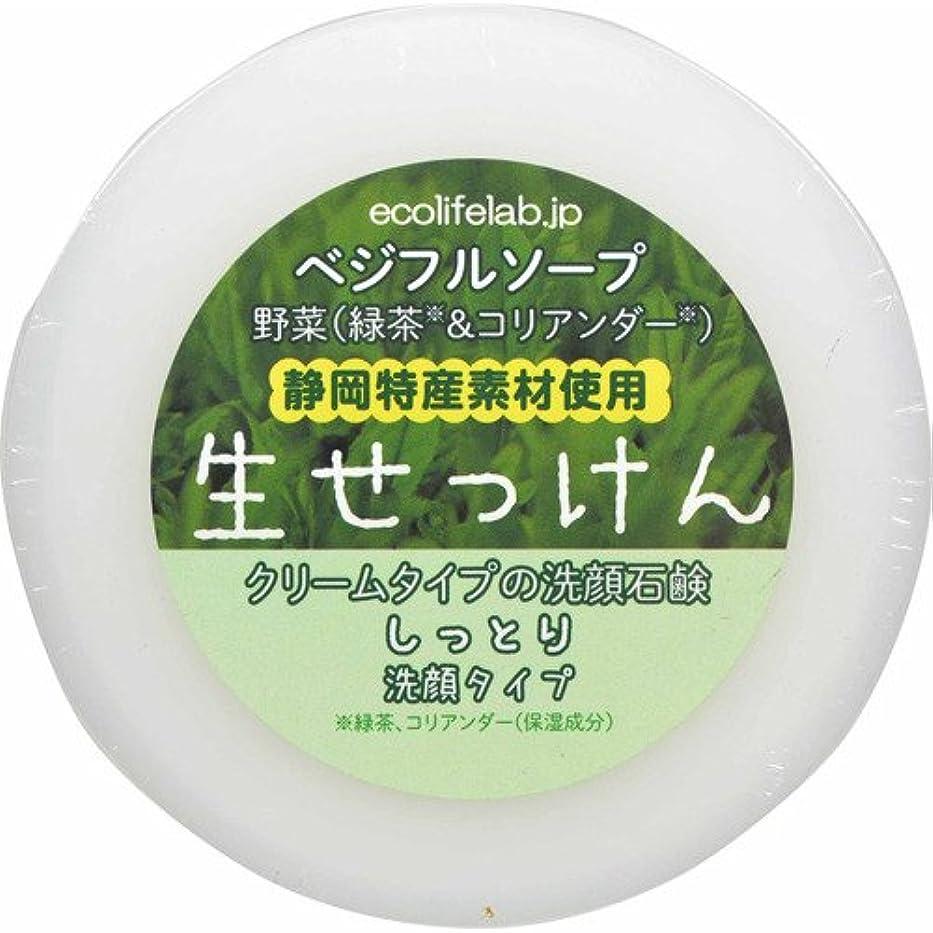 謎軸有限ベジフルソープ 生せっけん(野菜) しっとり洗顔タイプ 100g