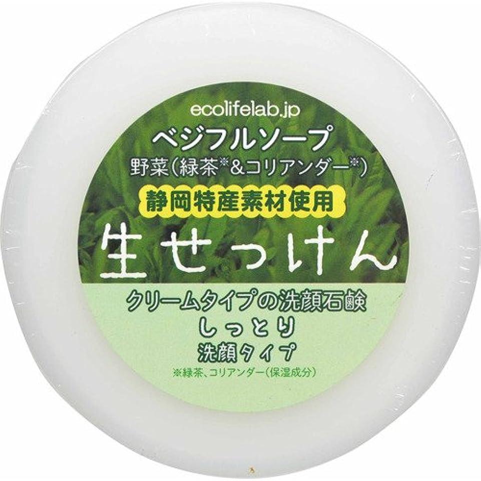 束ねる卒業ほこりっぽいベジフルソープ 生せっけん(野菜) しっとり洗顔タイプ 100g