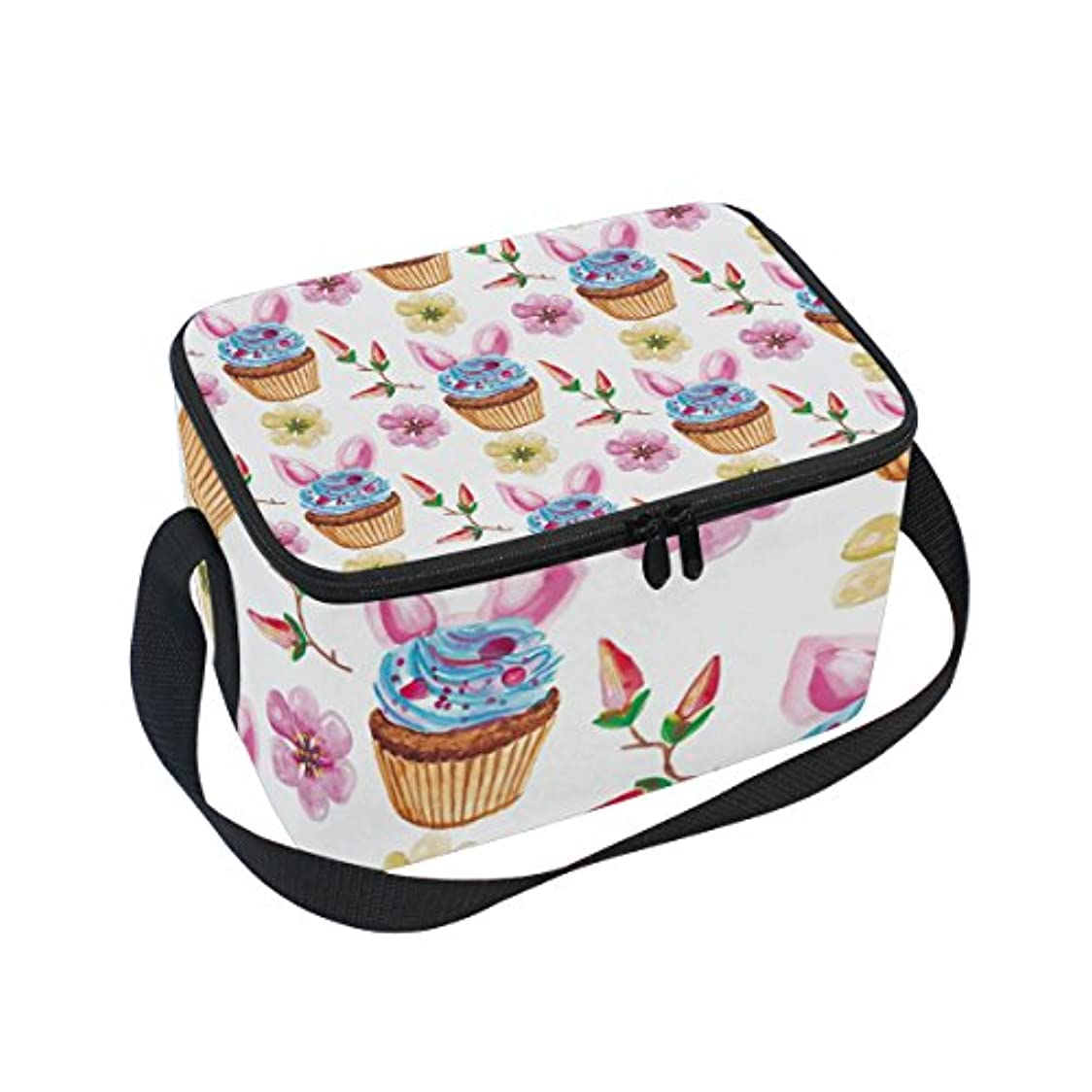 和らげる精神フィッティングクーラーバッグ クーラーボックス ソフトクーラ 冷蔵ボックス キャンプ用品 ケーキ柄 保冷保温 大容量 肩掛け お花見 アウトドア
