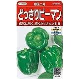 サカタのタネ 実咲野菜1400 どっさりピーマン 翠玉二号 00921400
