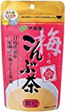 伊藤園 梅こんぶ茶 55g