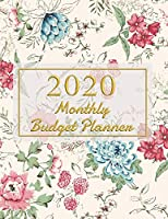 2020 Monthly Budget Planner: Expense Finance Budget book By A Year Monthly Weekly & Daily calendar Bill Budgeting Planner And Organizer Tracker Workbook journals Business Money Notebook Planning financial Worksheets or personal cash management at home.